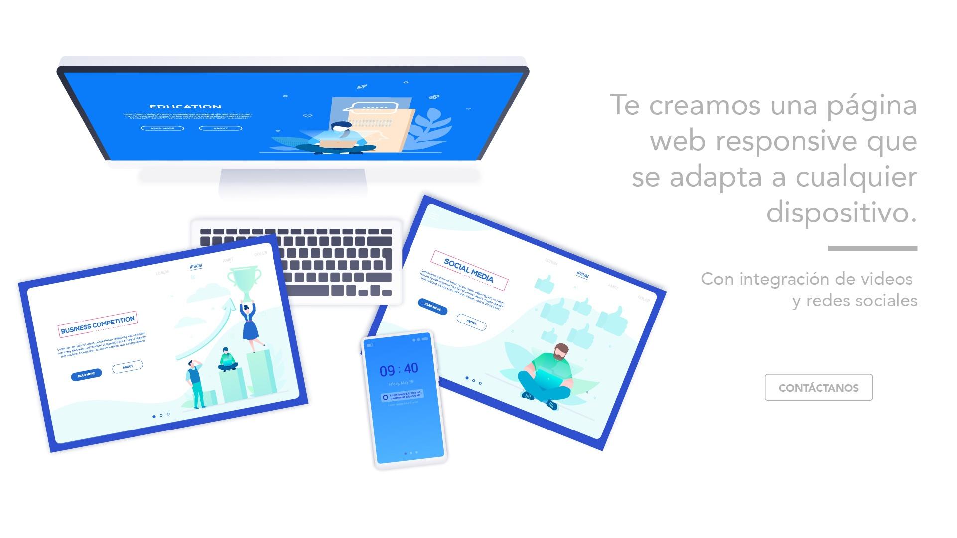 Diseño de página web en Castellón