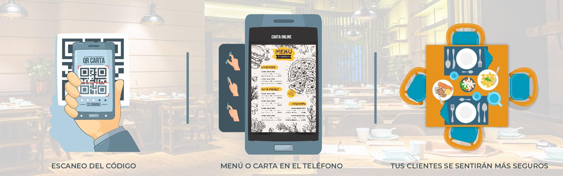 Carta QR restaurante Creapubli Castellon