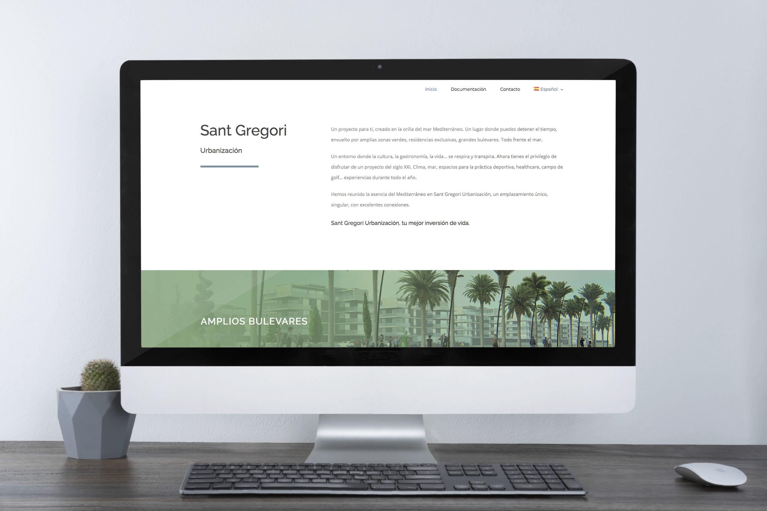 Pagina web corporativa para empresa